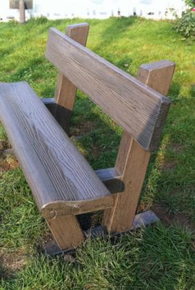 仿木靠背椅 FM-042