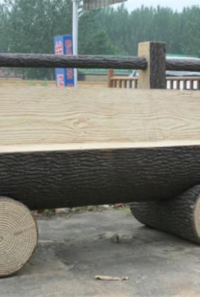 仿木石凳 FM-028