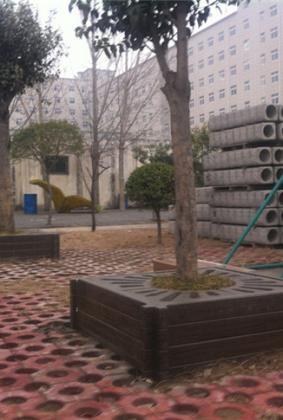 仿木树围凳 FM-043