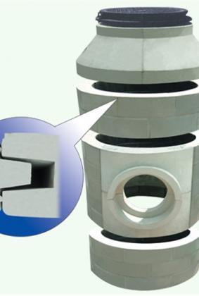 井筒结构示意图